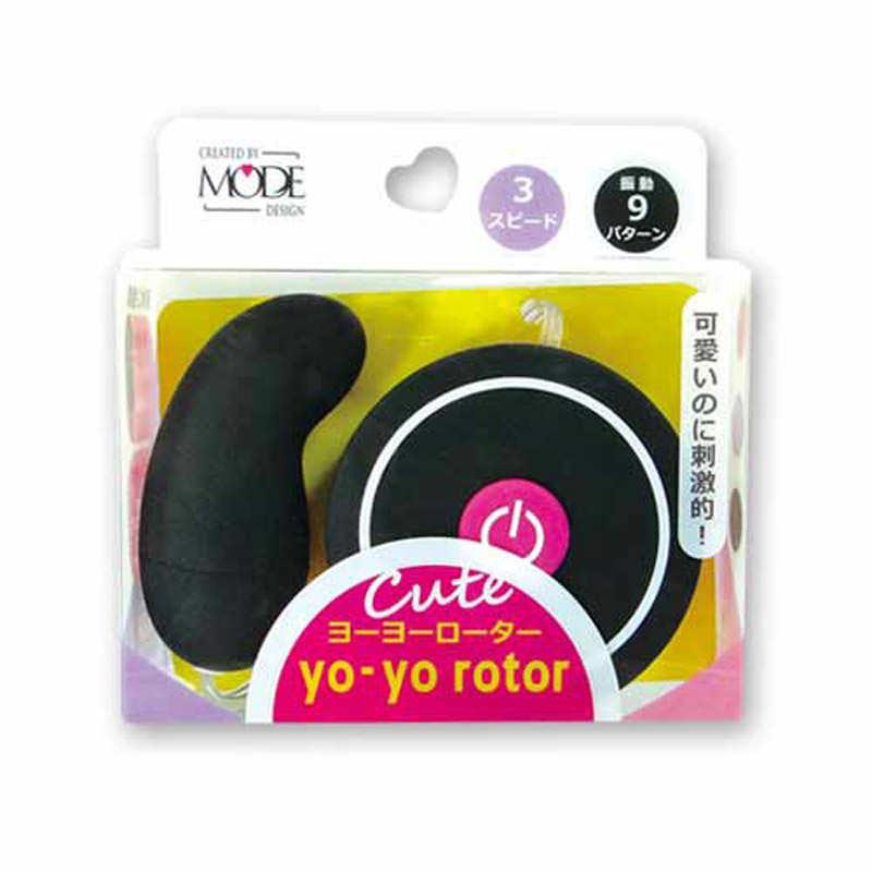 MODE|日本 yo-yo rotor 可愛造型 跳蛋 - 黑粉