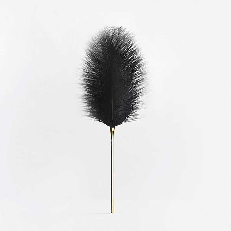 UPKO|SM 羽毛棒 - 黑色