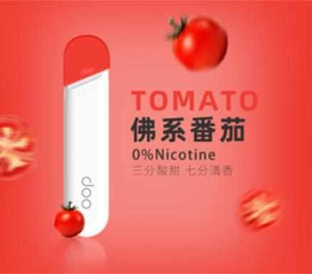 【Doo One V3旗艦版】一次性霧化棒 陶瓷芯 煙量足 口感佳 - 佛系番茄(0%)